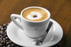 Café do macchiato de Caffè Fotografia de Stock Royalty Free