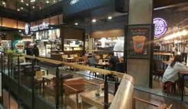Café do Mezzo Imagens de Stock Royalty Free