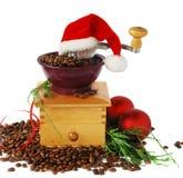Café do Natal Fotos de Stock