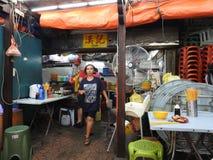 Café do papa de aveia do kee de Hong em Kuala Lumpur Malaysia Imagens de Stock