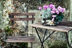 Café do passeio Imagem de Stock Royalty Free