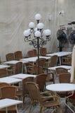 Café do pavimento Foto de Stock