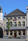 Café do século XVIII, Aalst Fotos de Stock