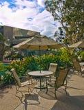 Café do terraço Foto de Stock