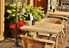 Café do verão Imagens de Stock
