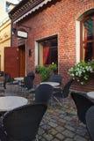 Café do verão Fotos de Stock Royalty Free