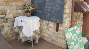 Café do verão Foto de Stock