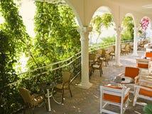 Café do verão de Beautful Imagens de Stock