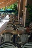 Café du sud de plage Photos stock