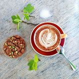 Café e biscoito Imagem de Stock