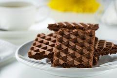 Café e biscoitos Foto de Stock