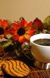 Café e bolinhos Imagem de Stock