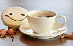 Café e bolinhos Fotografia de Stock