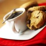 Café e bolinhos imagens de stock royalty free