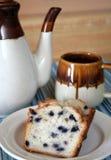 Café e bolo Foto de Stock
