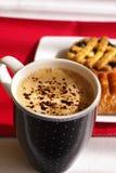 Café e bolos Imagem de Stock Royalty Free