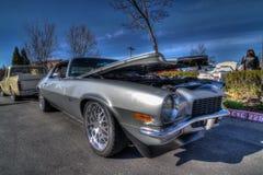 Café e carros de Blackhawk o 6 de abril 014 Fotografia de Stock