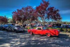 Café e carros de Blackhawk o 6 de abril 014 Fotografia de Stock Royalty Free