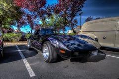Café e carros de Blackhawk o 6 de abril 014 Imagens de Stock Royalty Free