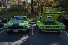 Café e carros de Blackhawk o 6 de abril 014 Foto de Stock