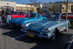 Café e carros de Blackhawk o 6 de abril 014 Foto de Stock Royalty Free