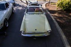 Café e carros de Blackhawk o 6 de abril 014 Imagens de Stock
