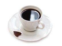Café e chocolate imagem de stock