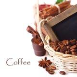 Café e chocolate. foto de stock royalty free