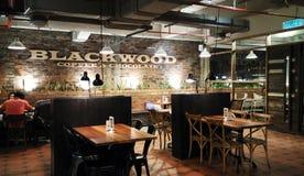 Café e chocolates do Blackwood Foto de Stock