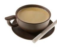 Café e cigarro Foto de Stock