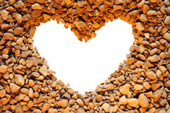 Café e coração Imagem de Stock