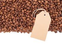 Café e fag isolados no fundo branco foto de stock