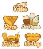 Café e fast food Fotografia de Stock