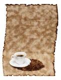 Café e feijões Foto de Stock