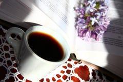 Café e lilás Imagens de Stock