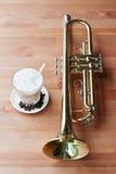 Café e música Imagem de Stock