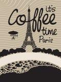 Café e Paris Imagens de Stock Royalty Free