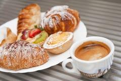 Café e pastelaria Fotos de Stock Royalty Free