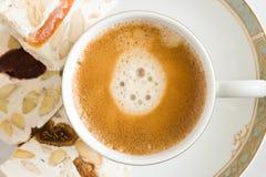 Café e petiscos Imagens de Stock Royalty Free