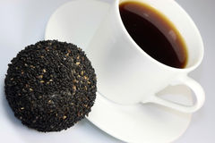 Café e sobremesa japonesa foto de stock royalty free