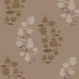 Café - ejemplo stock de ilustración