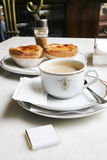 Café elegante Foto de Stock Royalty Free