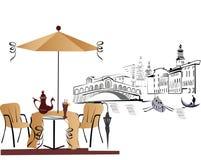Café em Italy Fotos de Stock Royalty Free
