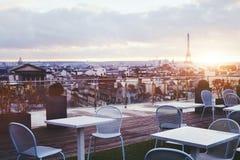 Café em Paris fotografia de stock royalty free