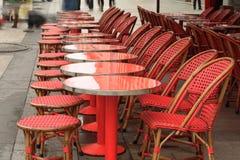 Café em Paris Foto de Stock Royalty Free
