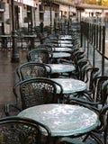 Café em Plaza de Oriente Foto de Stock