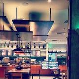 Café em tons retros Fotografia de Stock