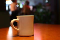 Café em um comensal imagens de stock royalty free
