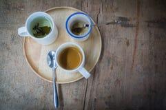 Café em um copo Imagens de Stock Royalty Free