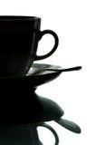 Café em uns copos Fotografia de Stock